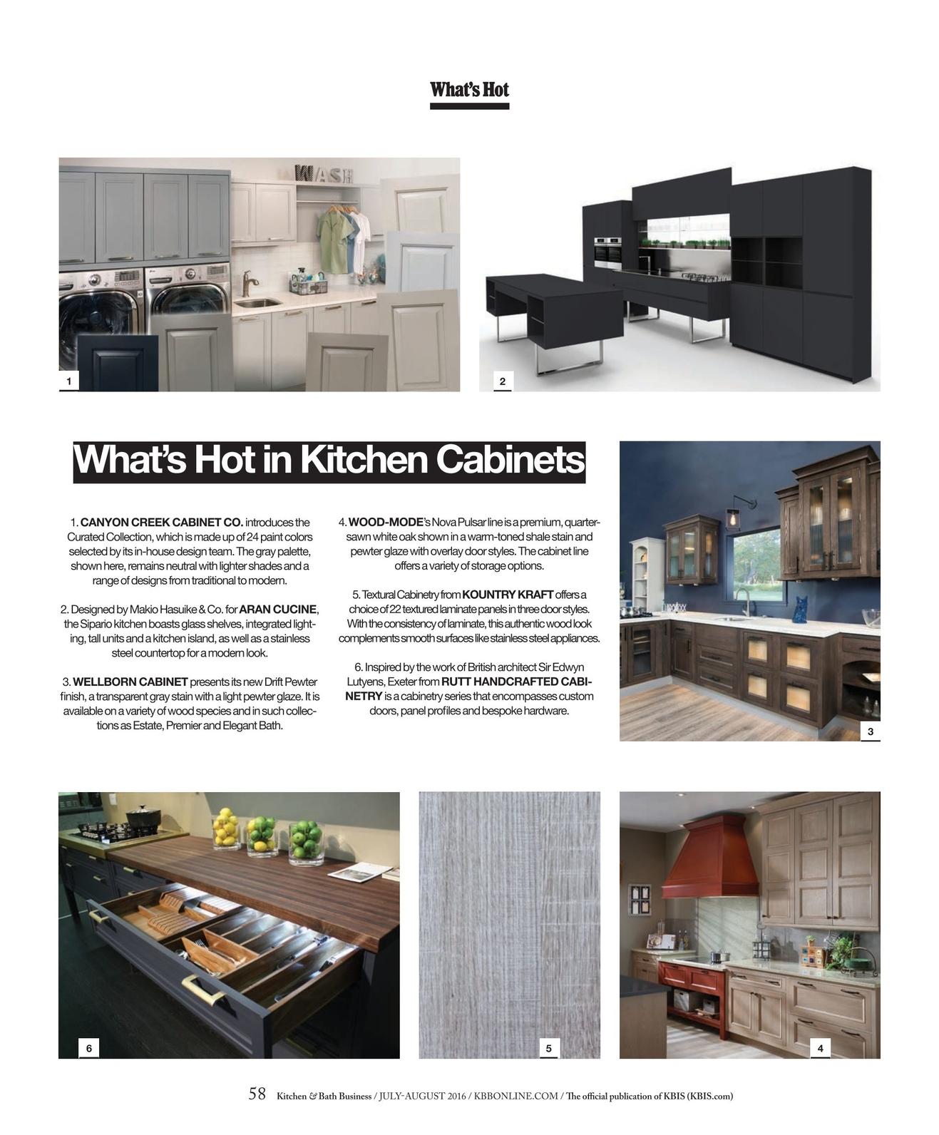Kitchen & Bath Business - July/August 2016