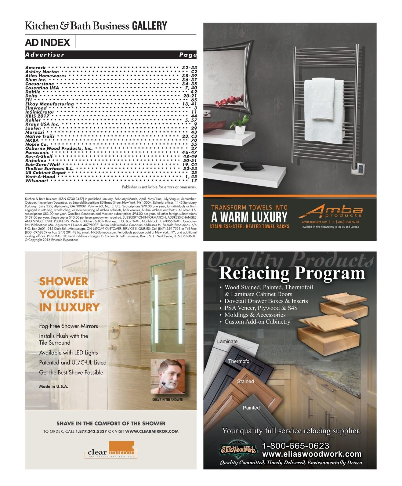 Kitchen & Bath Business - July/August 2016 [70 - 71]