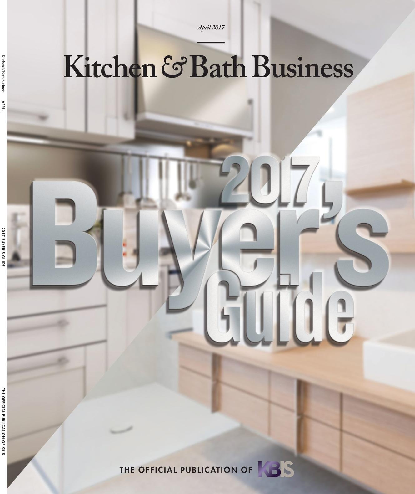 Kitchen & Bath Business - April 2017