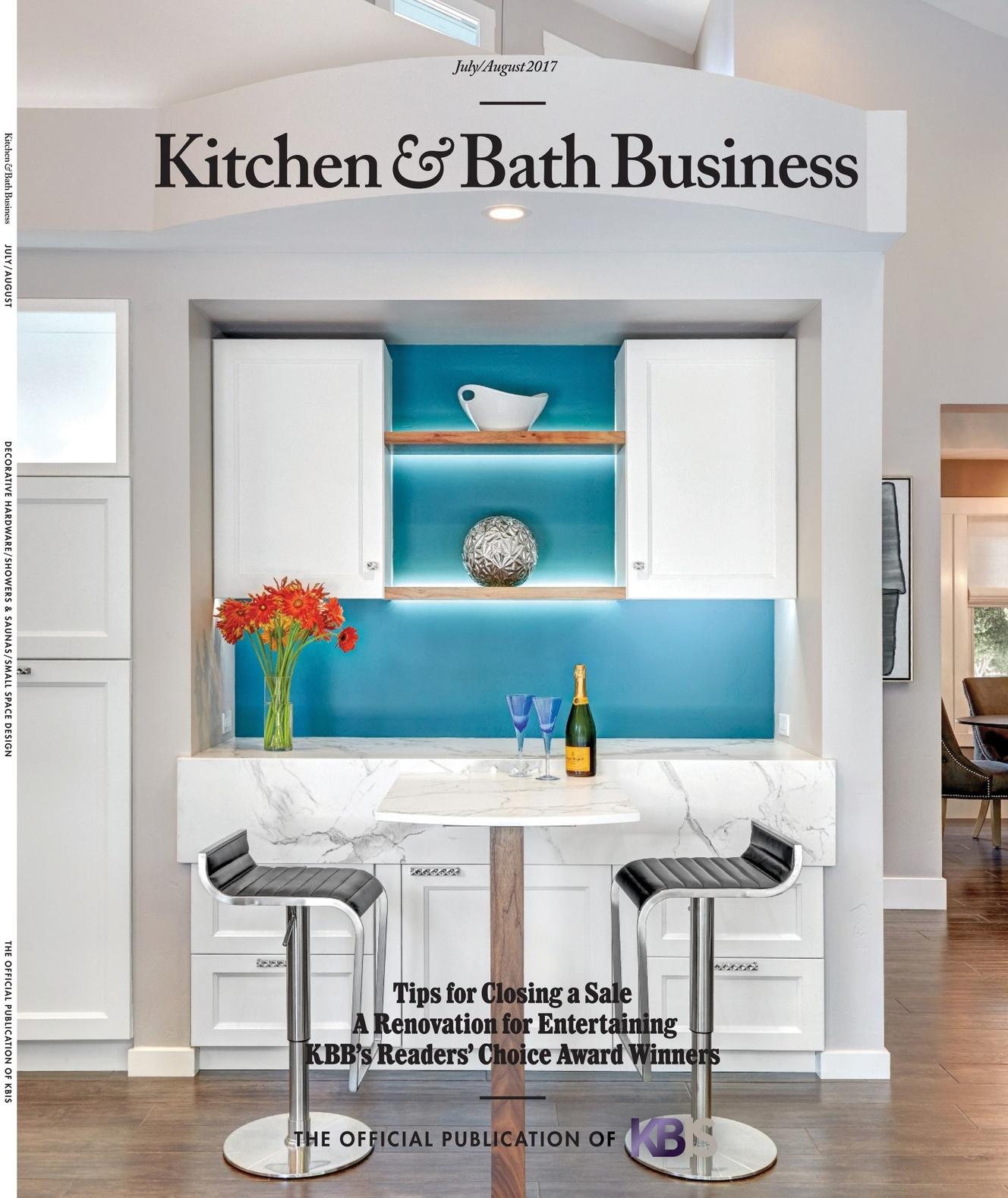 Kitchen & Bath Business - July/August 2017