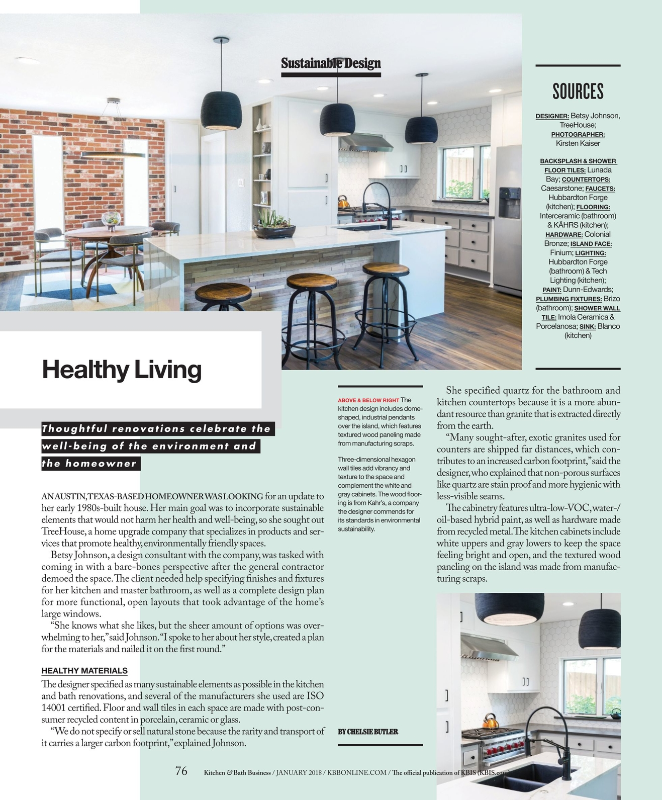 Kitchen & Bath Business - January 2018