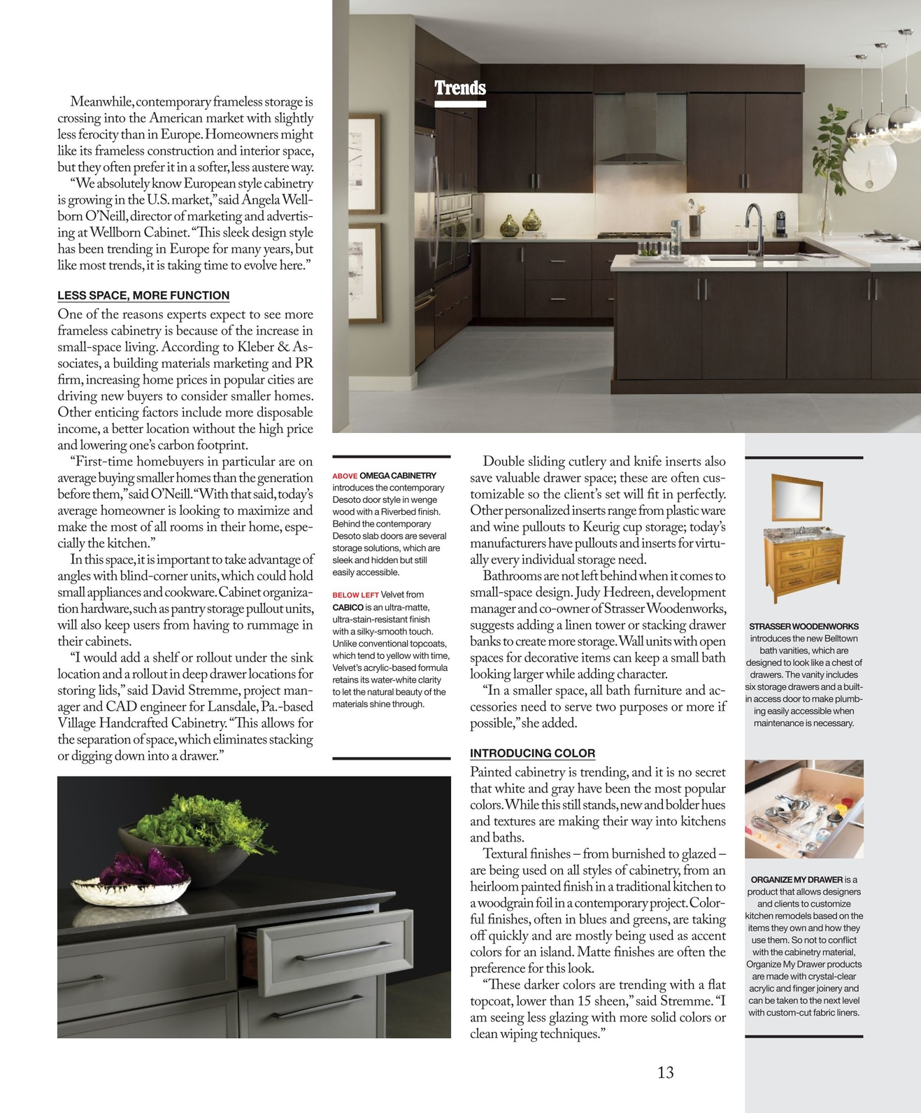 Outstanding Kitchen Bath Business February March 2018 Interior Design Ideas Apansoteloinfo