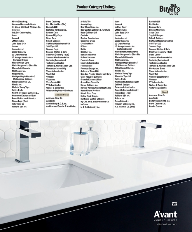 Kitchen U0026 Bath Business   April 2018 [28   29]