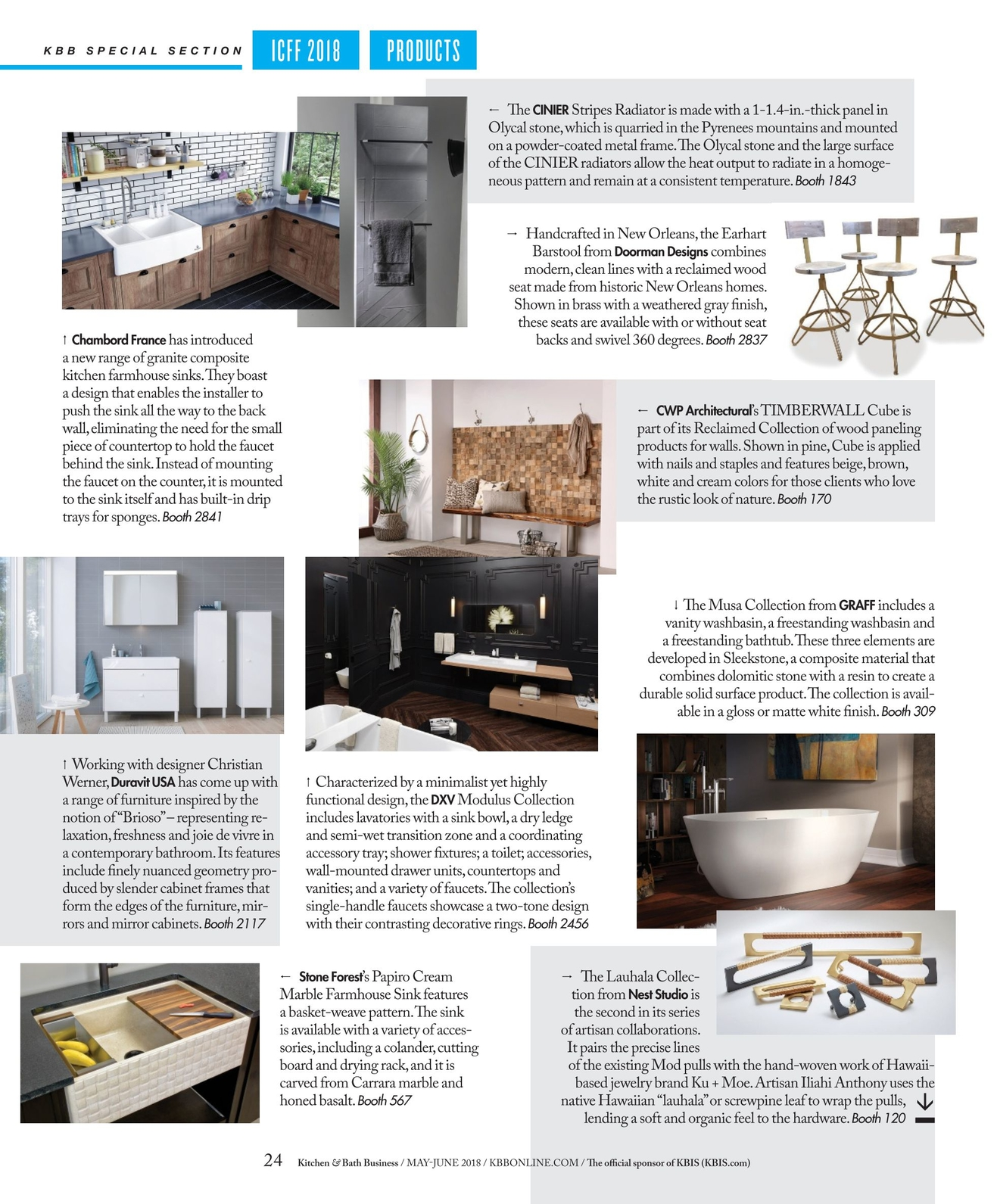 Astounding Kitchen Bath Business May June 2018 Interior Design Ideas Clesiryabchikinfo