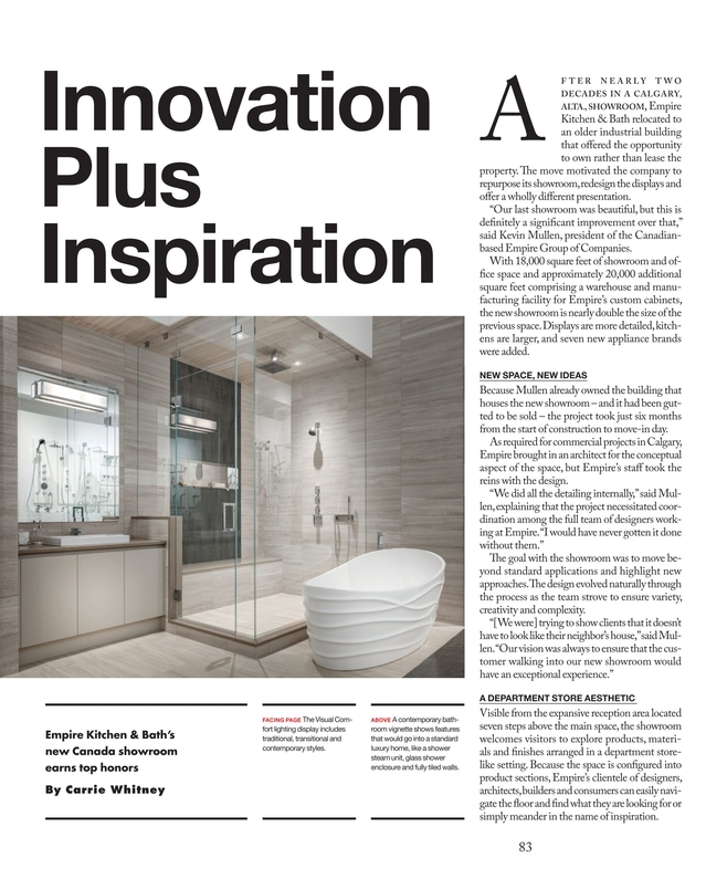 Kitchen & Bath Business - July/August 2018