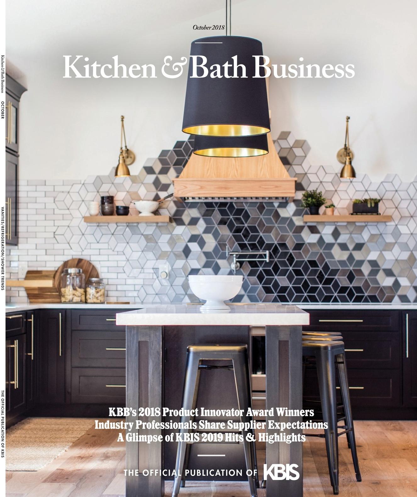 Excellent Kitchen Bath Business October 2018 Interior Design Ideas Tzicisoteloinfo