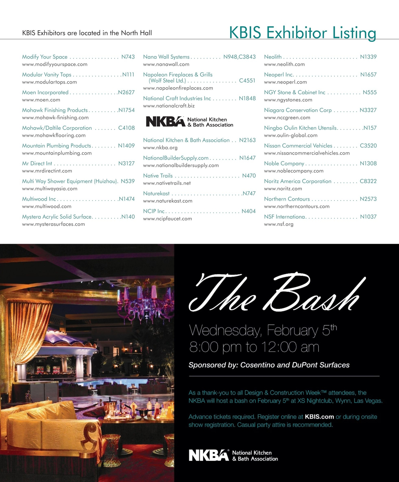 KBIS 2014 Show Directory [60 - 61]