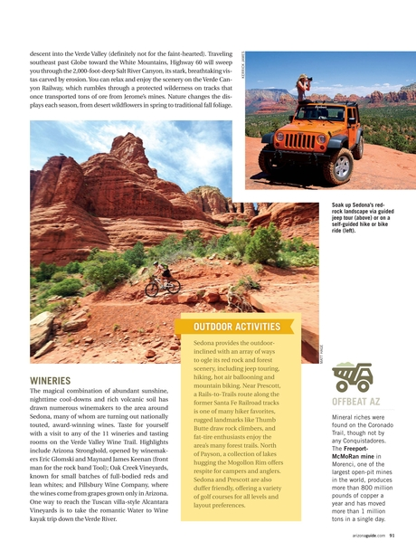 2013 Arizona Official State Visitor Guide