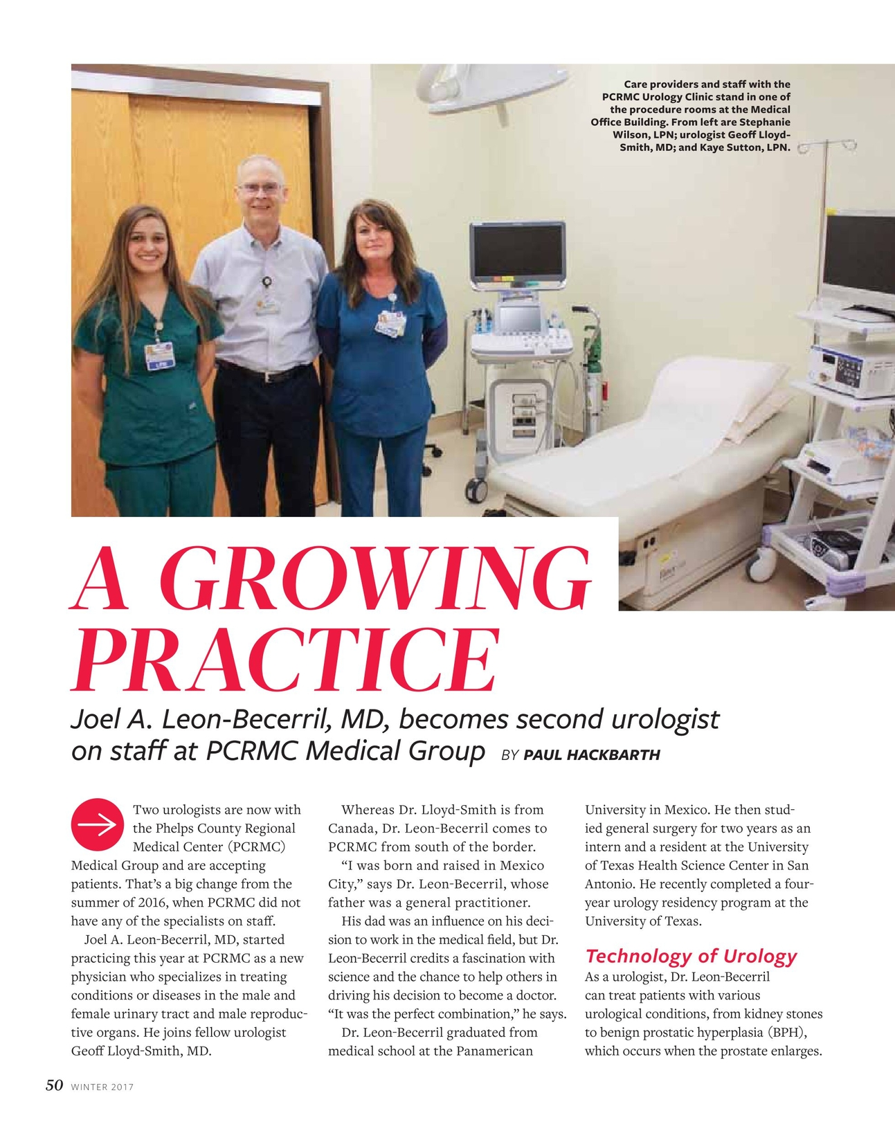 Vim & Vigor - Winter 2017 - Phelps County Regional Medical