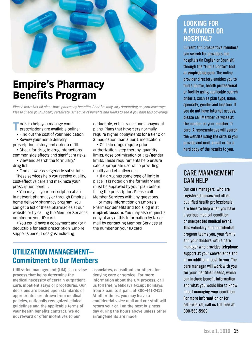 Healthy Solutions - Issue 1, 2010 - Anthem POS