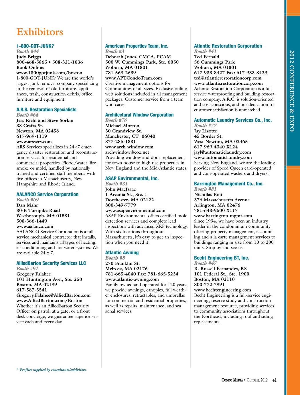 Condo Media - October 2012