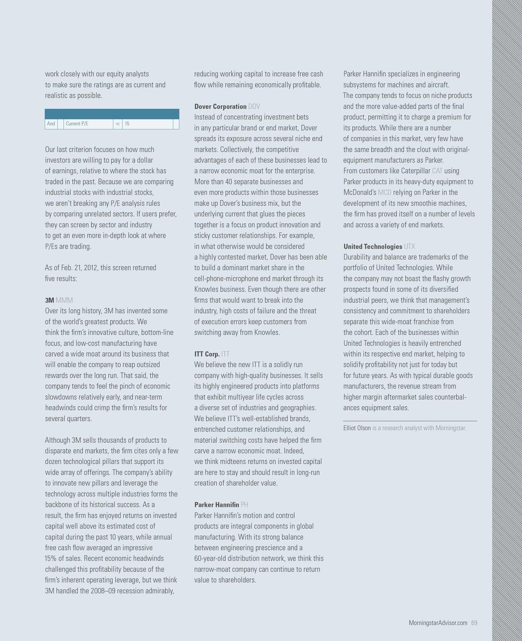 Morningstar Advisor - April/May 2012