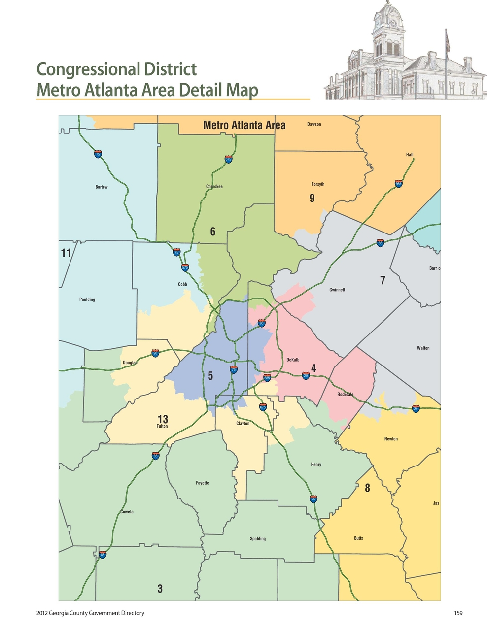 Georgia County Government 2012 Directory