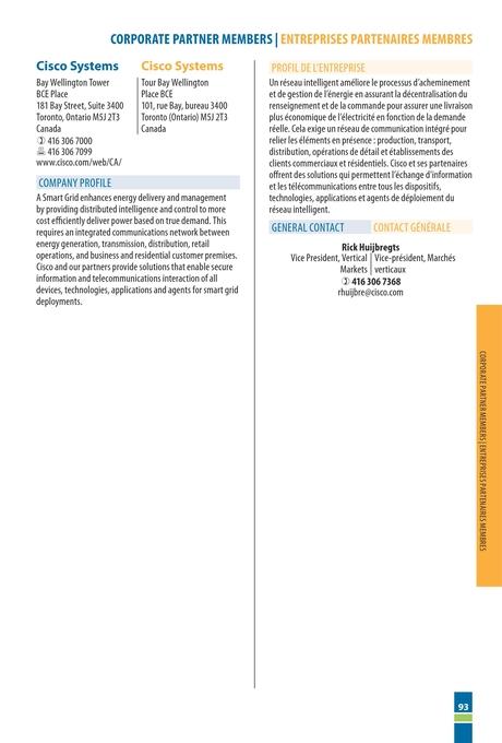 Canadian Electricity Association - 2012 Membership Directory
