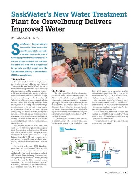 Canadian Municipal Water News & Review - Fall 2012
