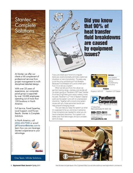 Engineered Wood Journal - Spring 2011