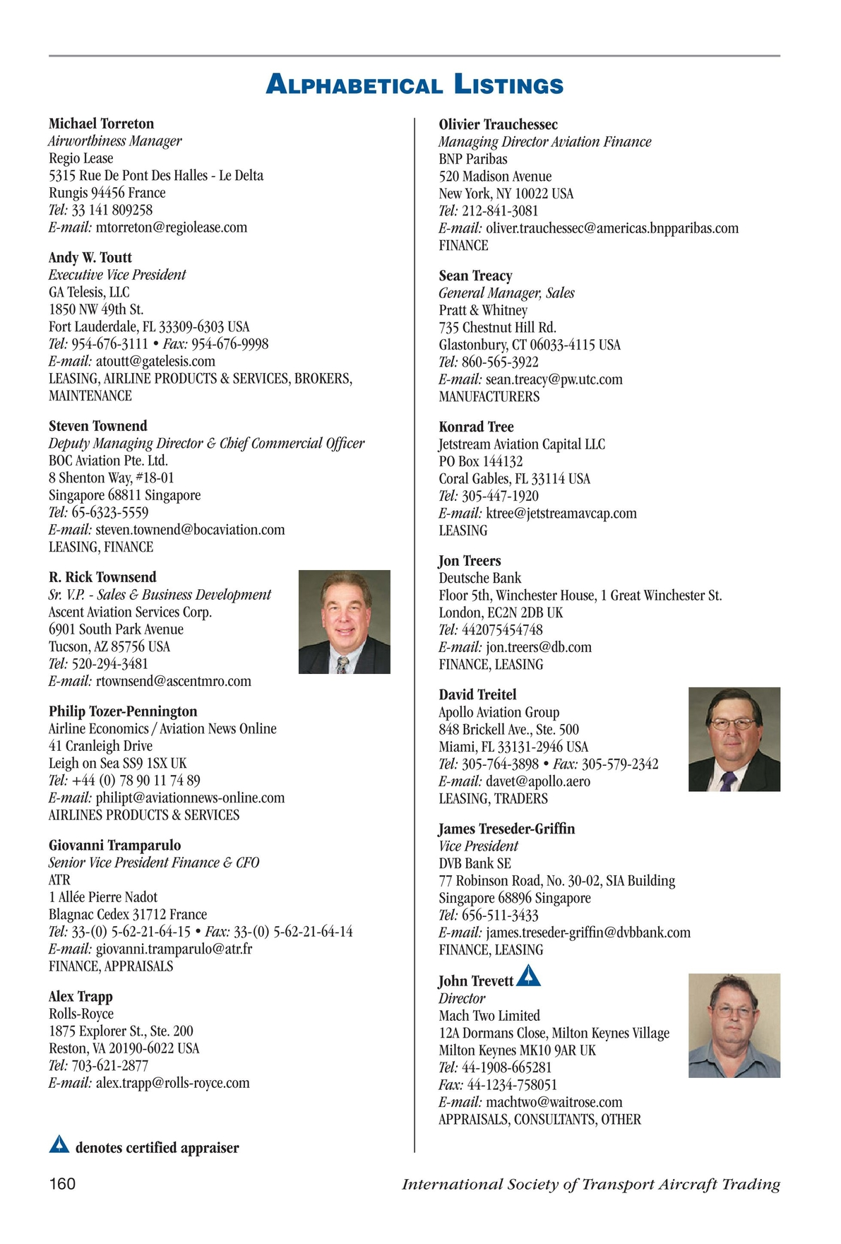 Jetrader - 2011 Membership Connections