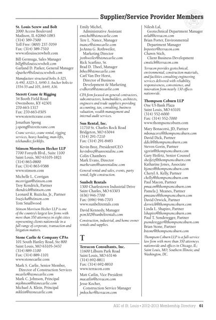 AGC St  Louis Membership Directory 2012-2013