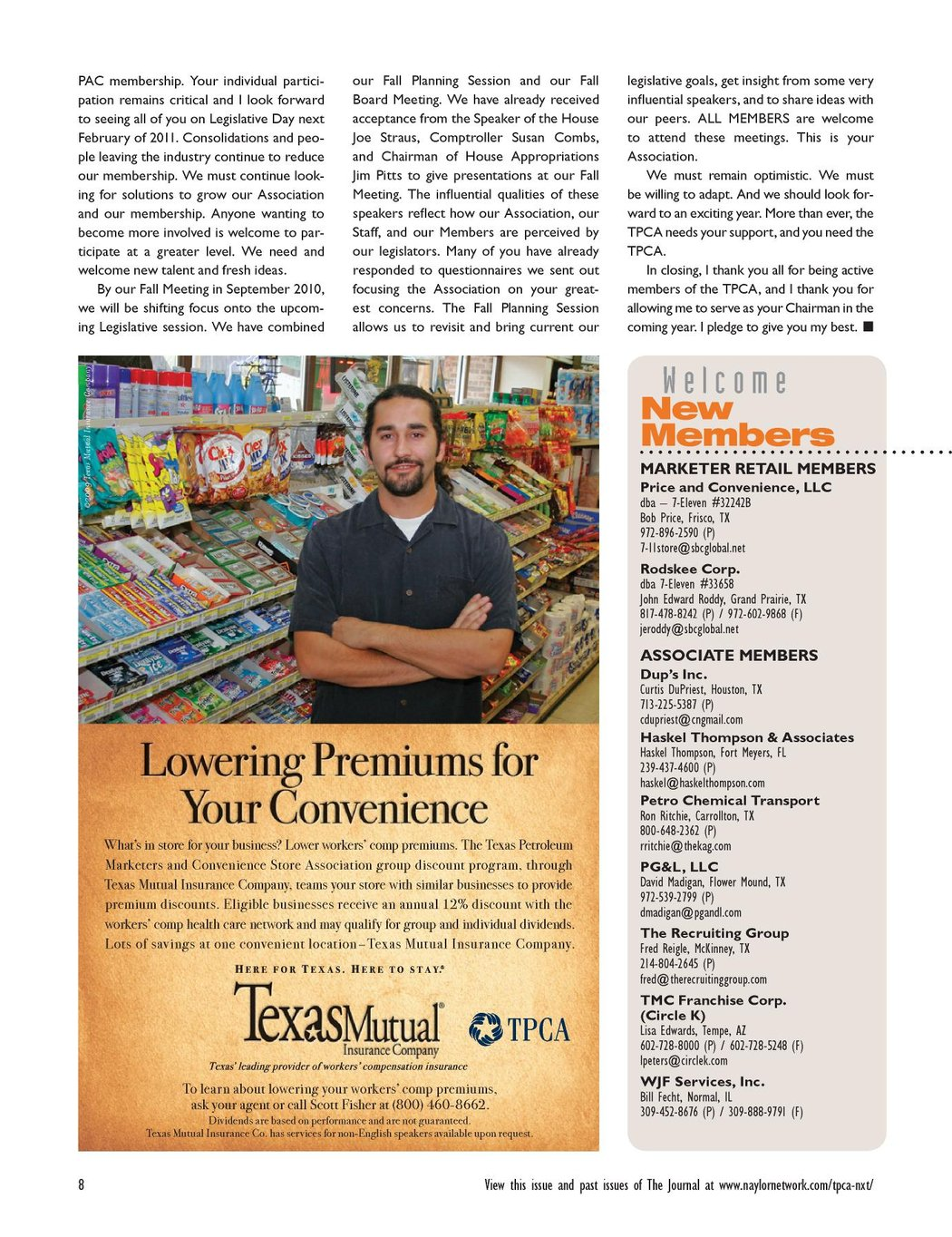 Texas Petroleum and C-Store Journal - July/August/September 2010