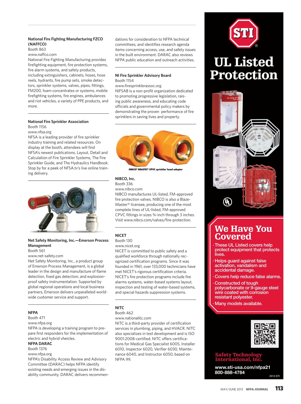 NFPA Journal - May/June 2013