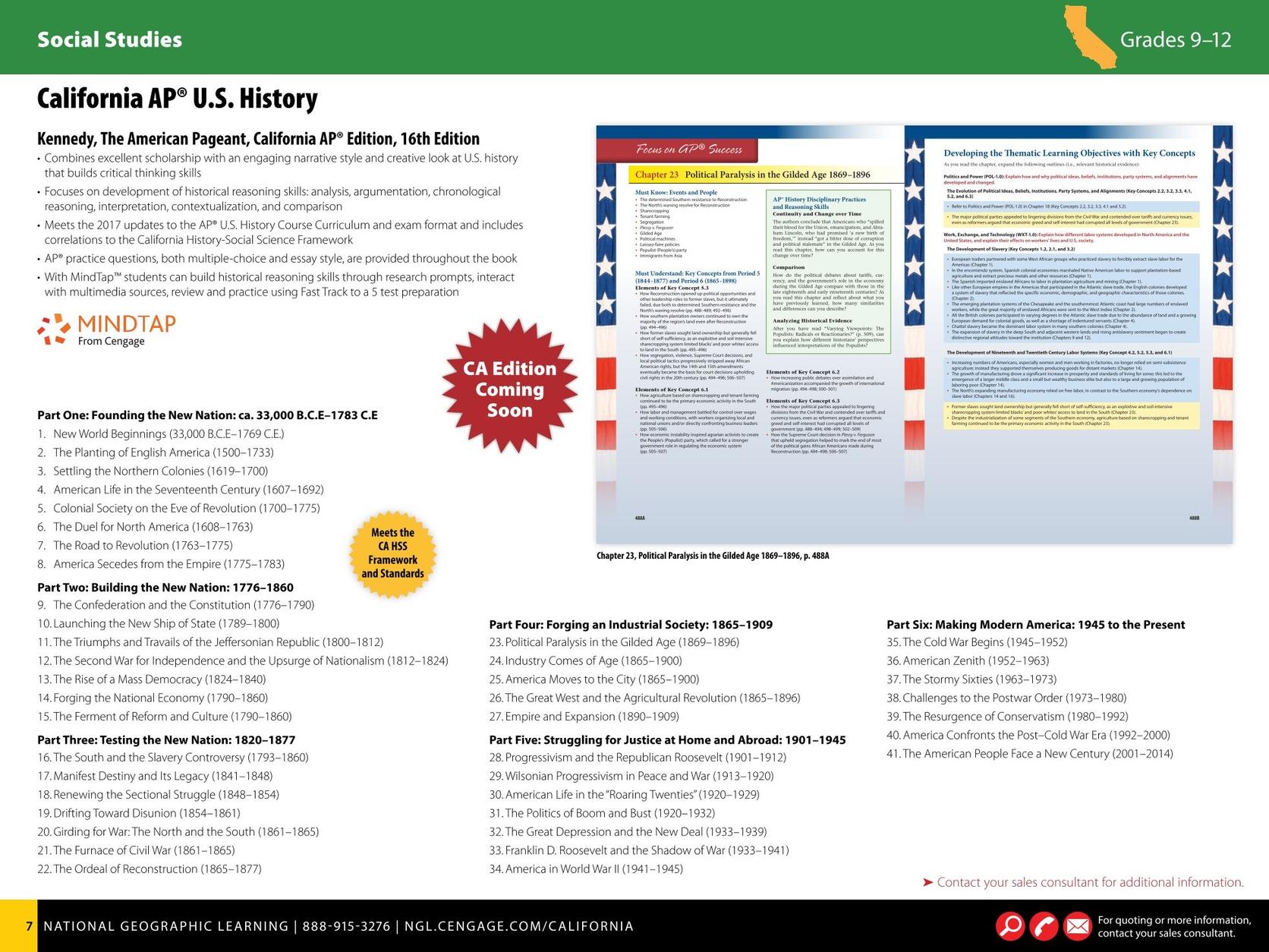 California Grades 9-12 Catalog - 2017-2018