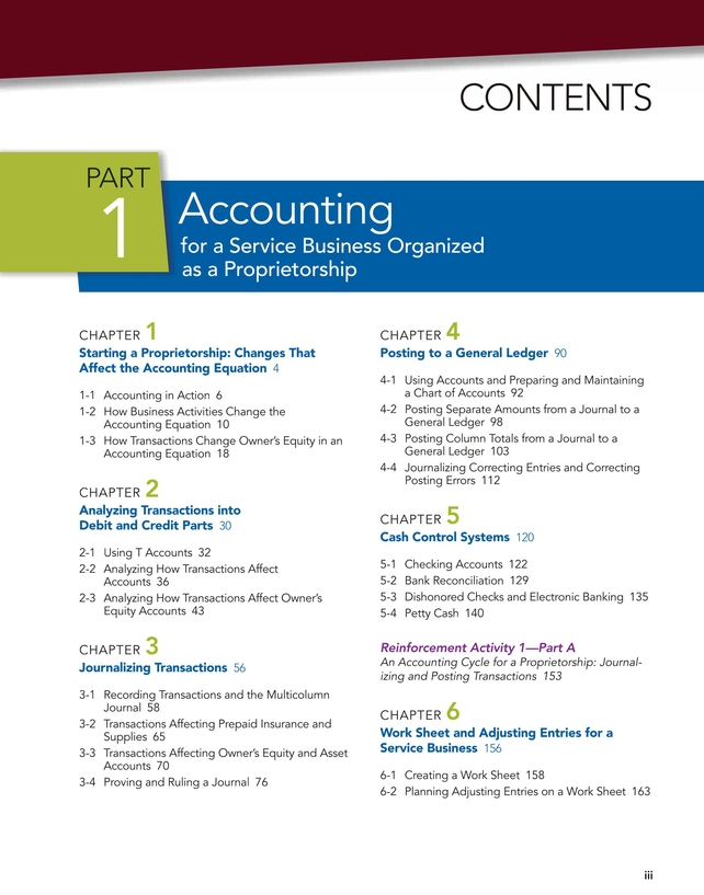 Century 21 Accounting Multicolumn Journal, 11e