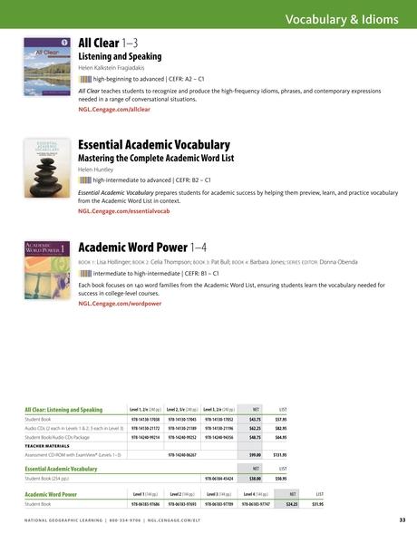 English Language Learning 2017-2018