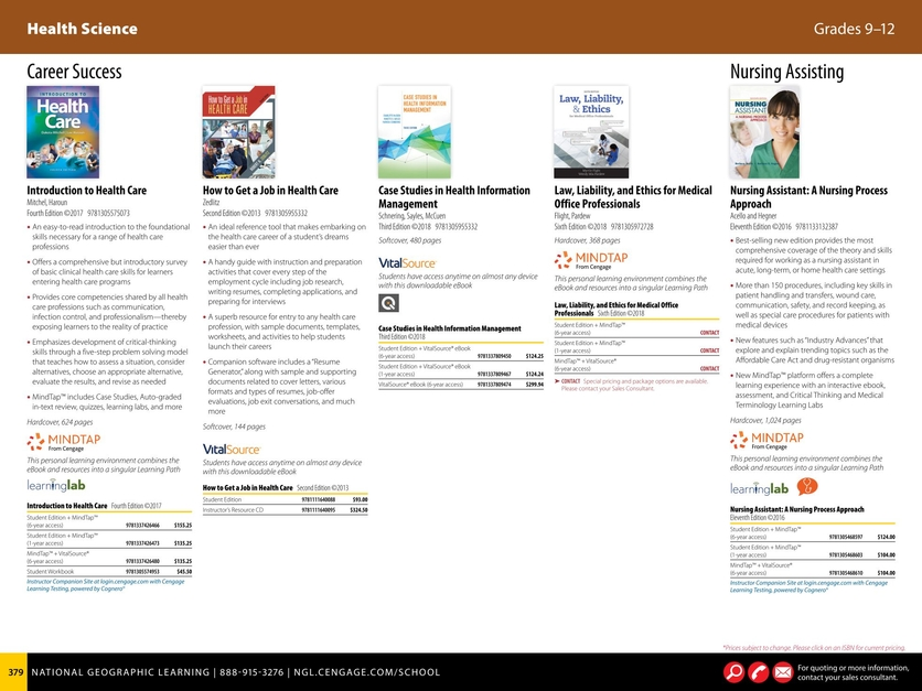 Grades 9-12 2017-2018 Career and Technical Education Catalog