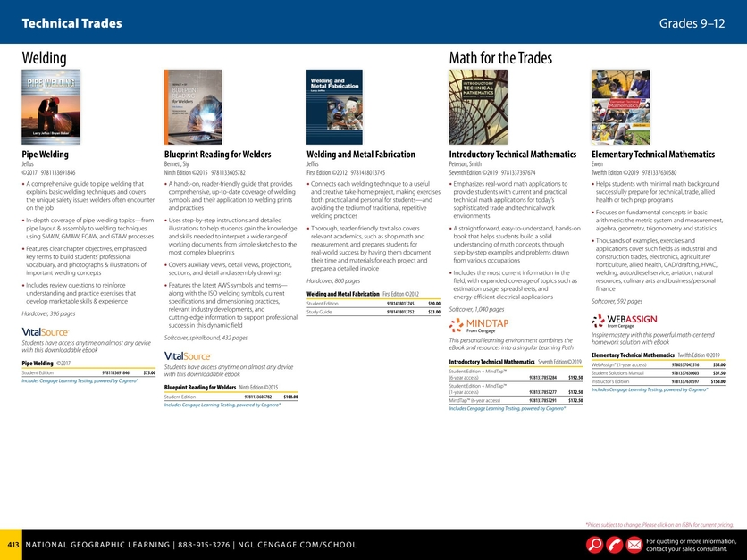 Grades 9-12 2018-2019 Career and Technical Education Catalog