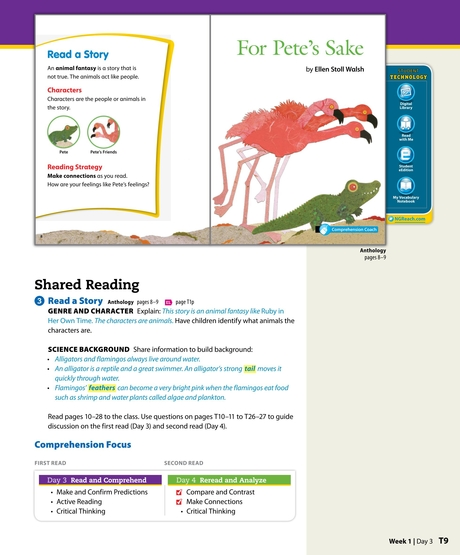 Reach For Reading Units 5 6 Grade 1