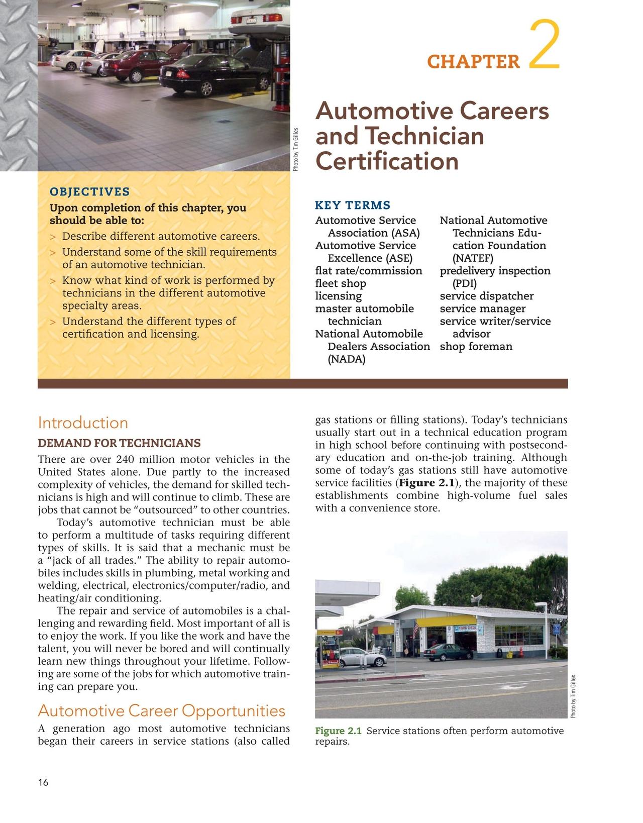 Automotive Service 5e Gilles