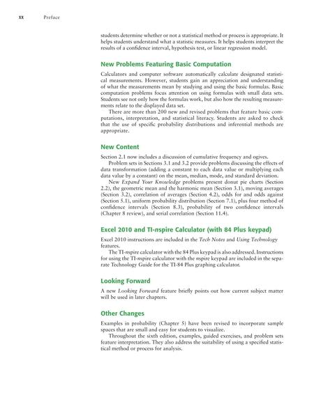 Understanding Basic Statistics, Sixth Edition