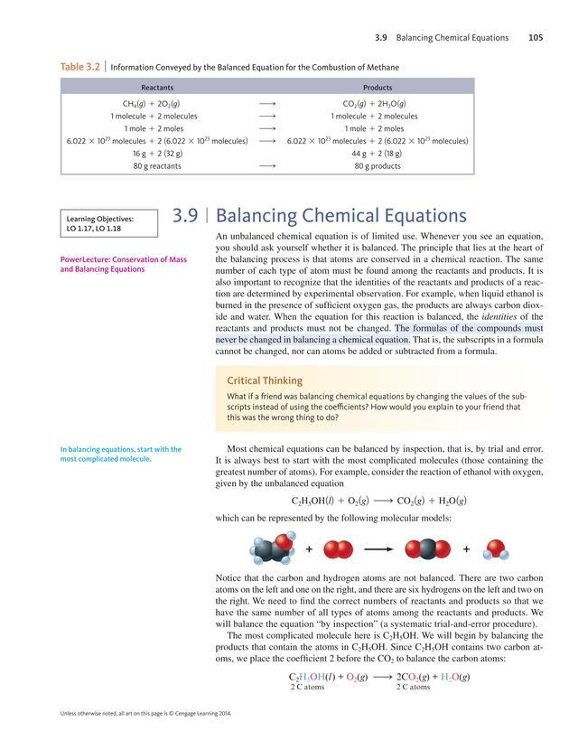 Chemistry, Ninth Edition