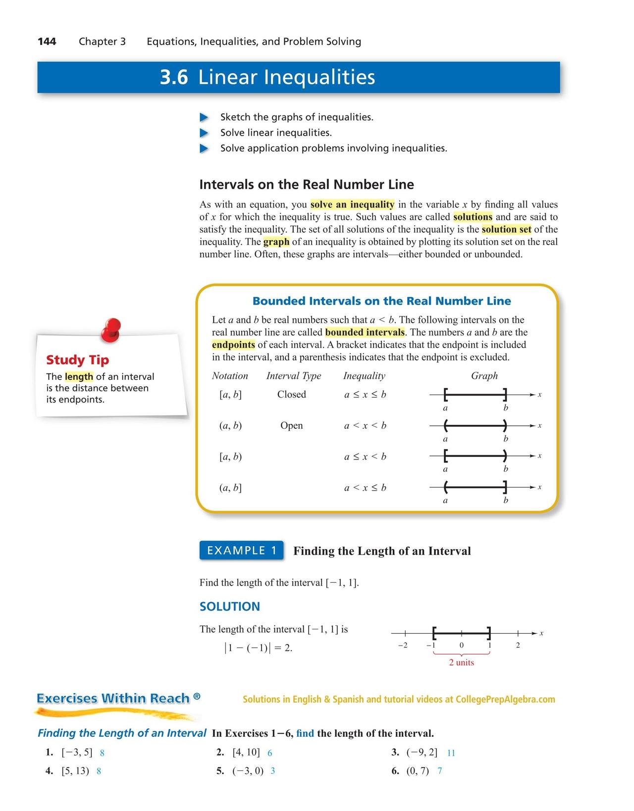 College algebra prep worksheets