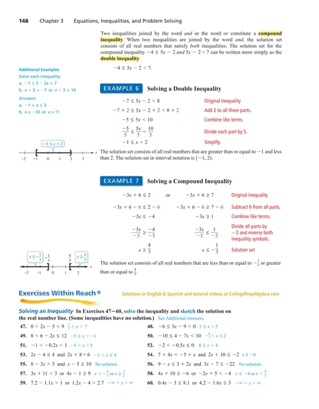 College Prep Algebra 148 149