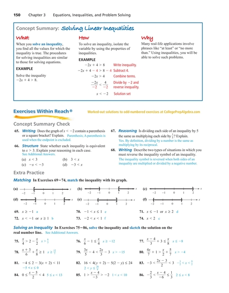 College Prep Algebra 150