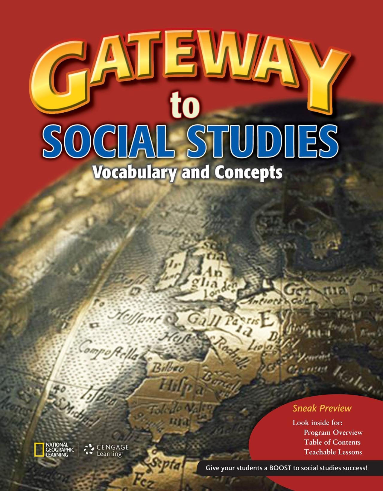 Gateway To Social Studies Buku National Geographic