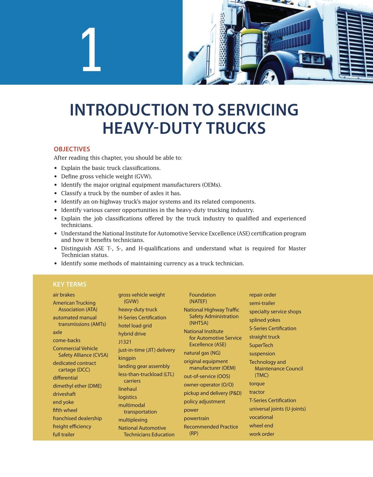 Heavy Duty Truck Systems, 6e, Bennett