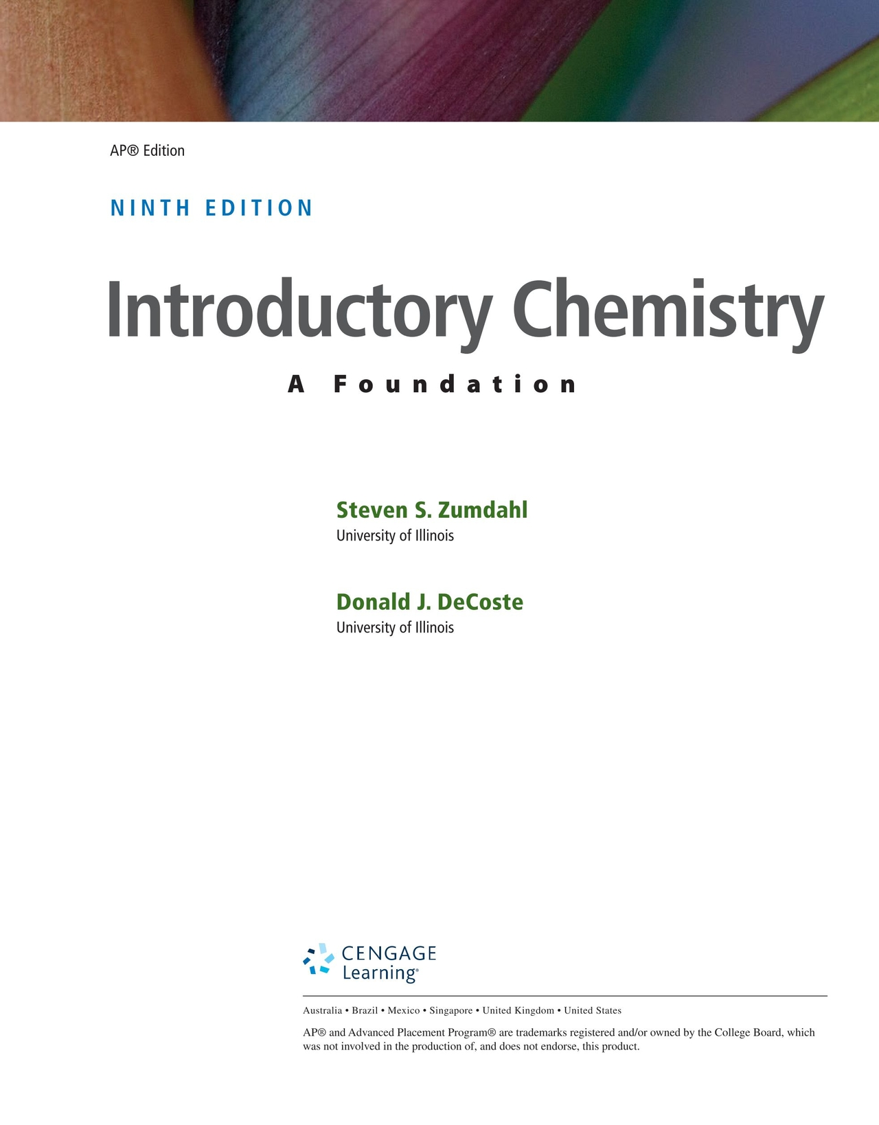 Chemistry 9th Edition Zumdahl Pdf