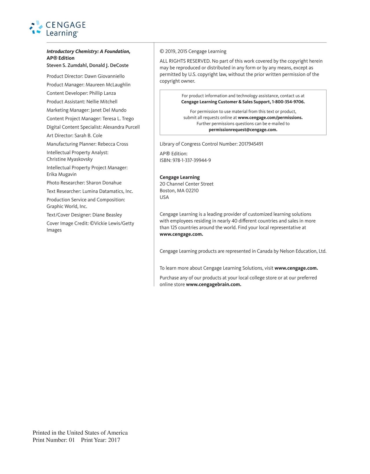 zumdahl chemistry 9th edition answers