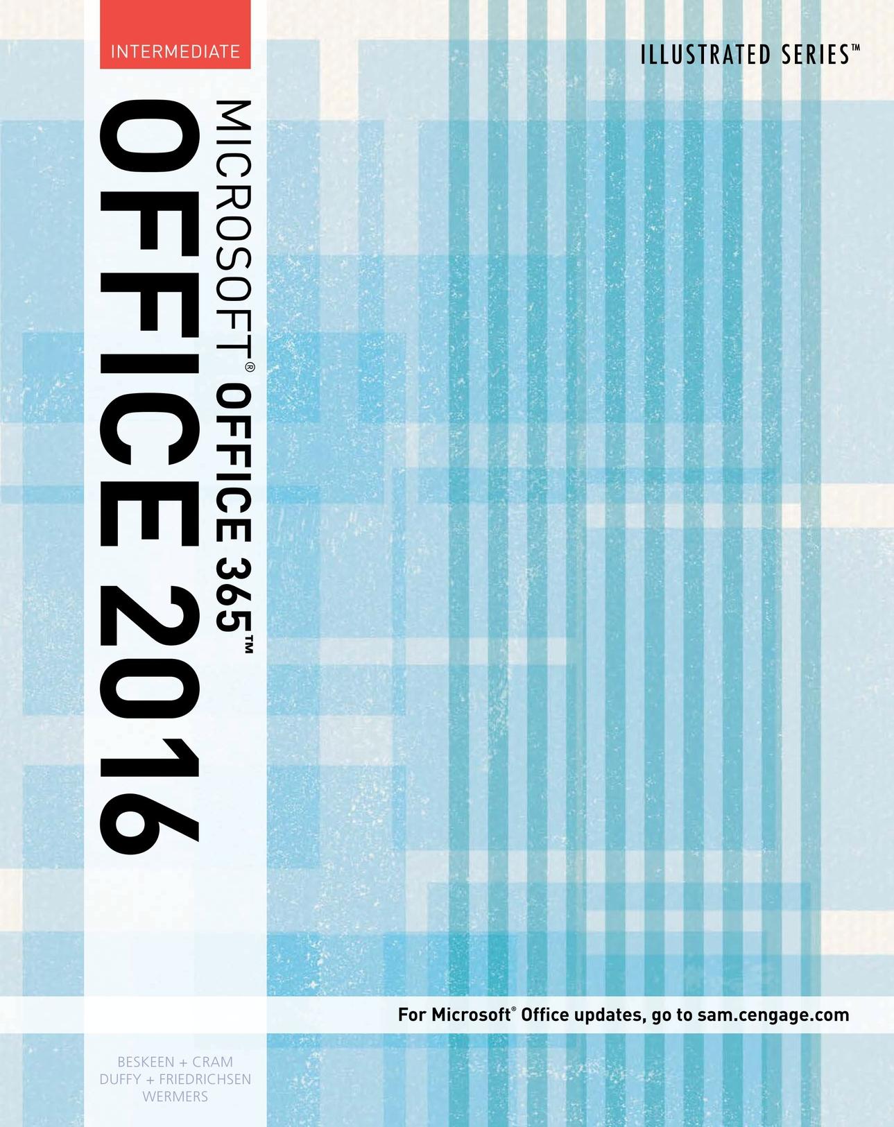 Microsoft Office 365 2016 Intermediate Cashman Series