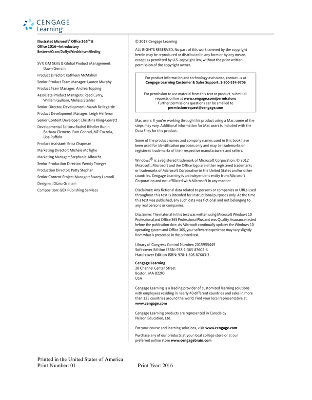microsoft office 365 office 2016 textbook pdf