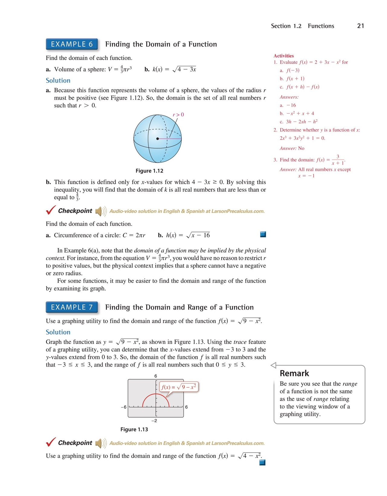 Precalculus With Limits - 7th Edition