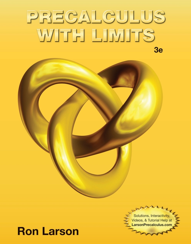 Precalculus With Limits Cover1