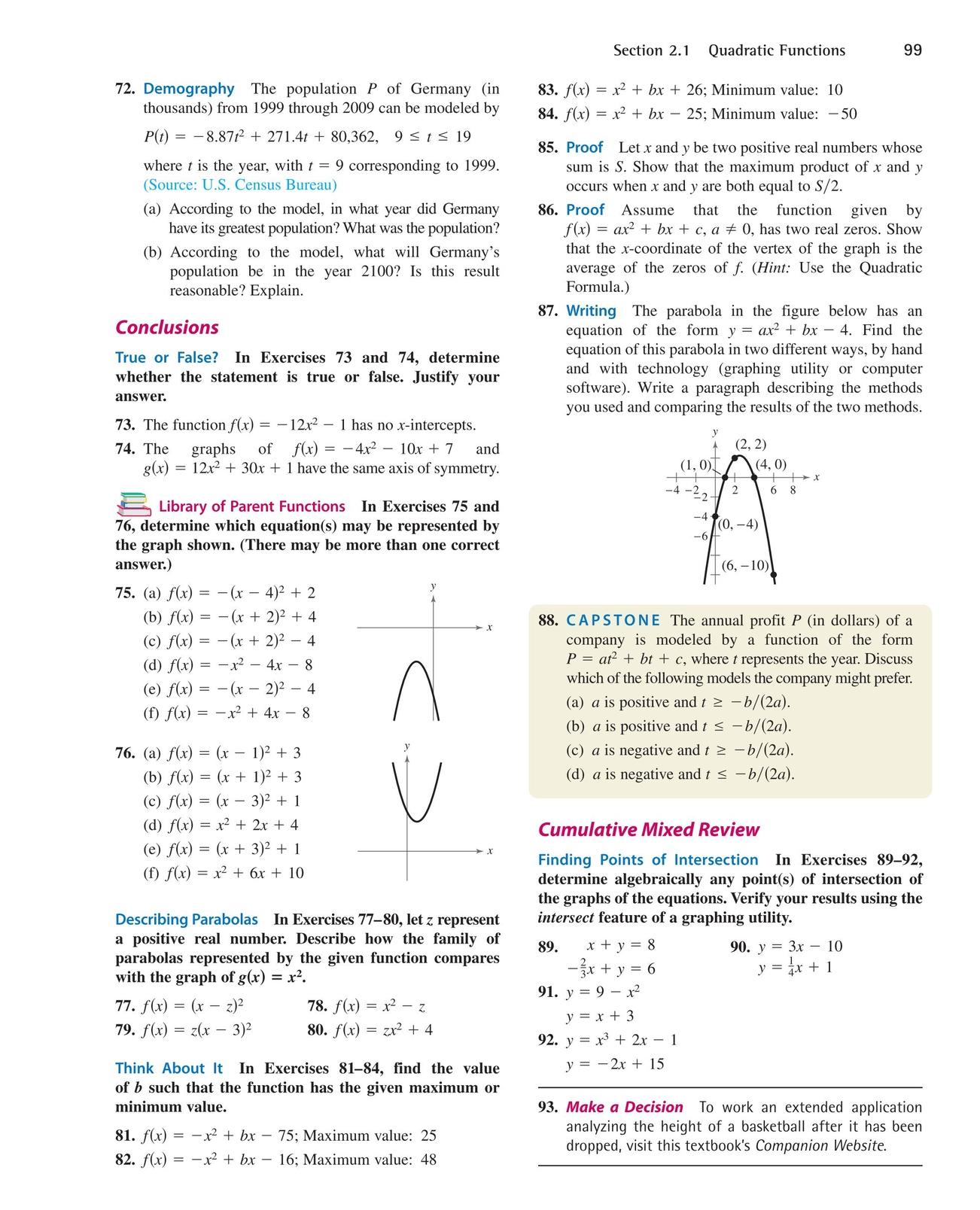 Precalculus Website