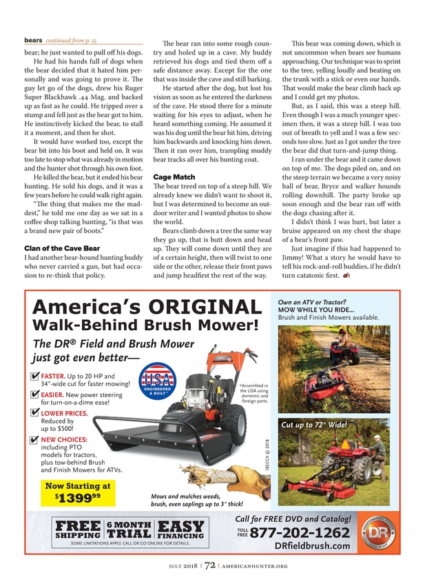 American Hunter - July 2018