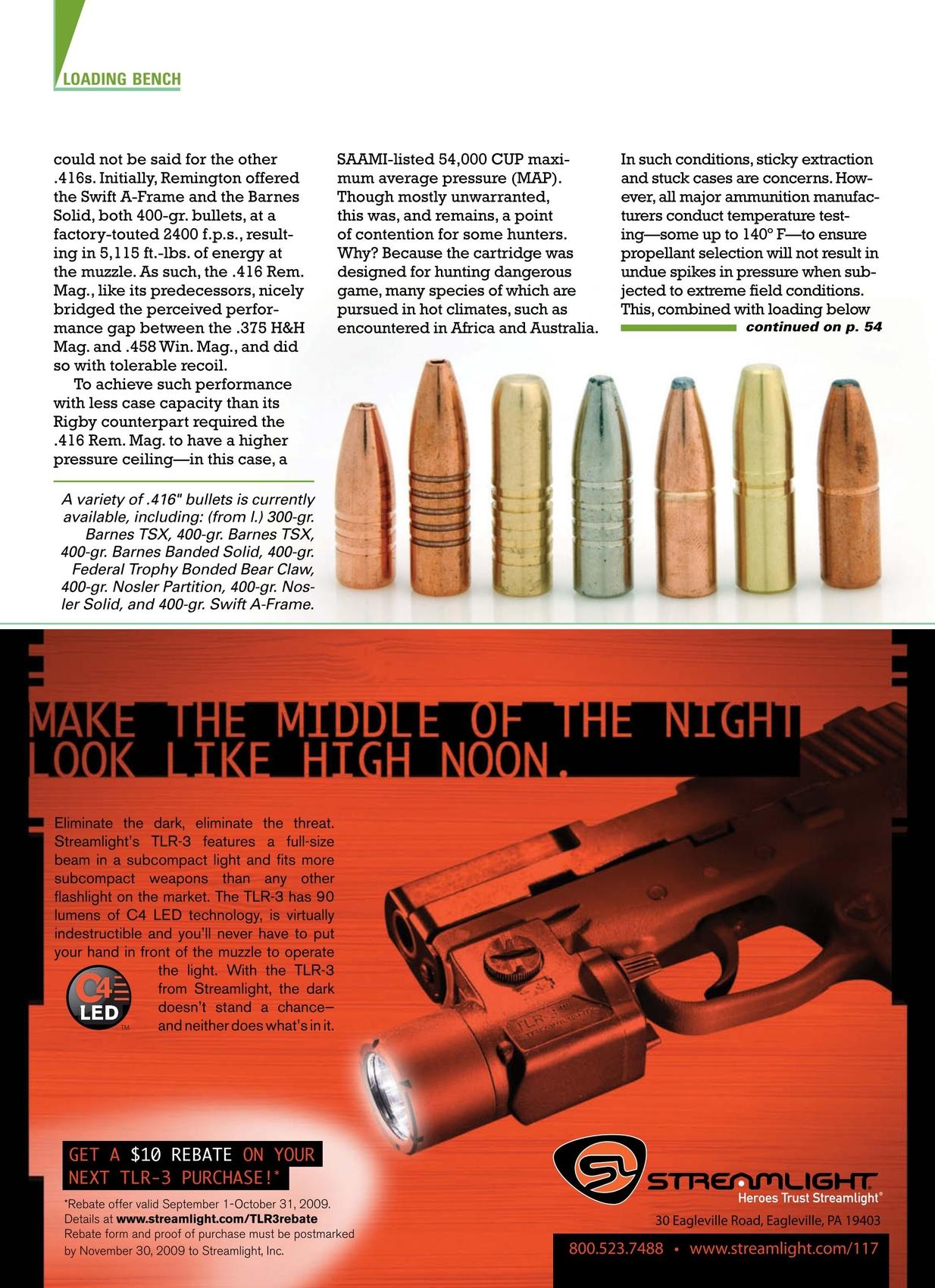 American Rifleman - October 2009