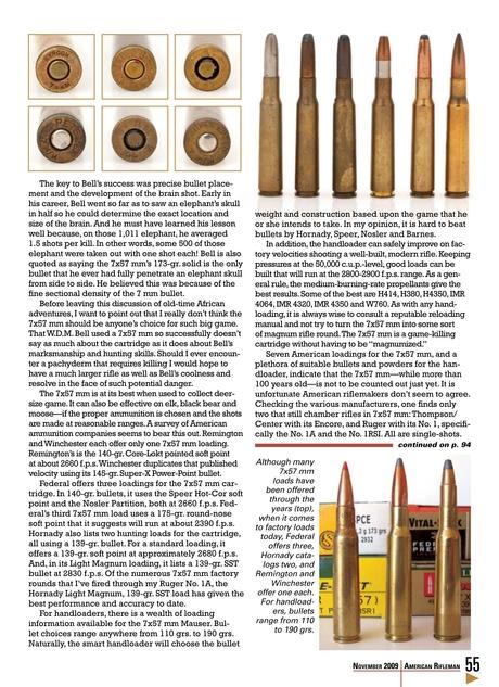 American Rifleman - November 2009