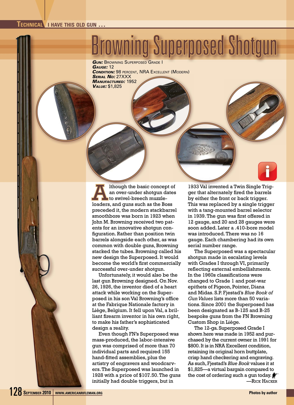 American Rifleman - September 2010