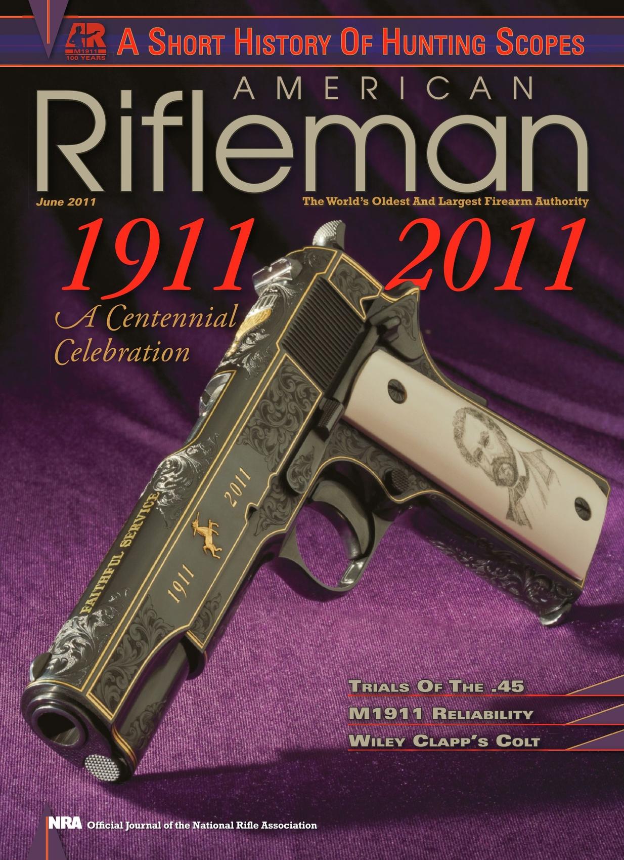 American Rifleman - June 2011